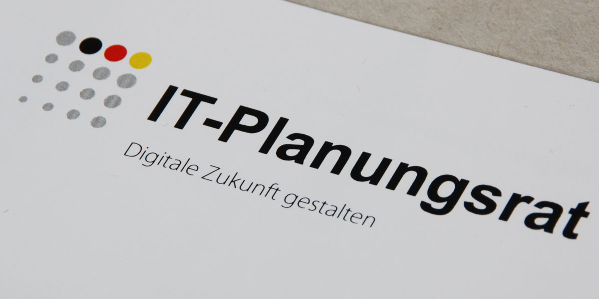 Communication concept for the German IT Planning Council