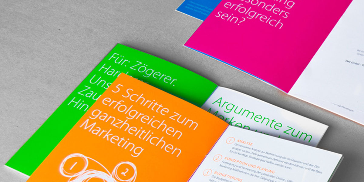 "Booklet zum Thema ""Ganzheitliches Marketing"""
