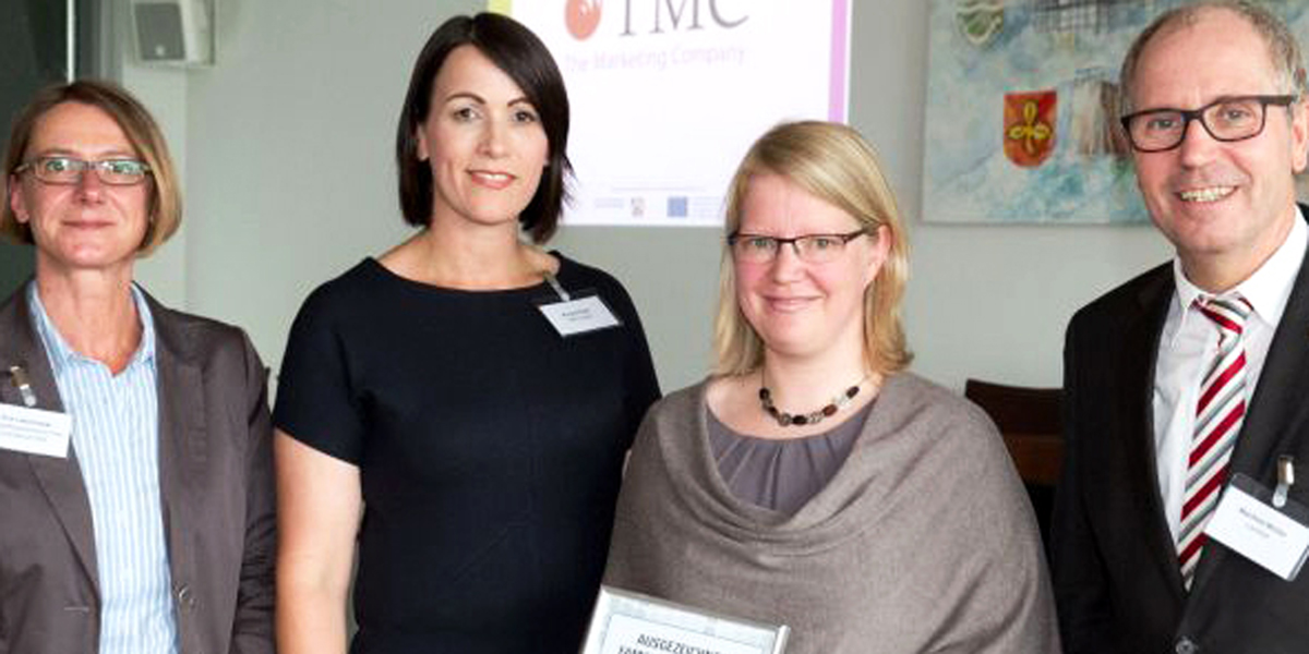 "Marketing Agency TMC GmbH from Paderborn gets award ""Family friendly Employer in the Paderborn region"""