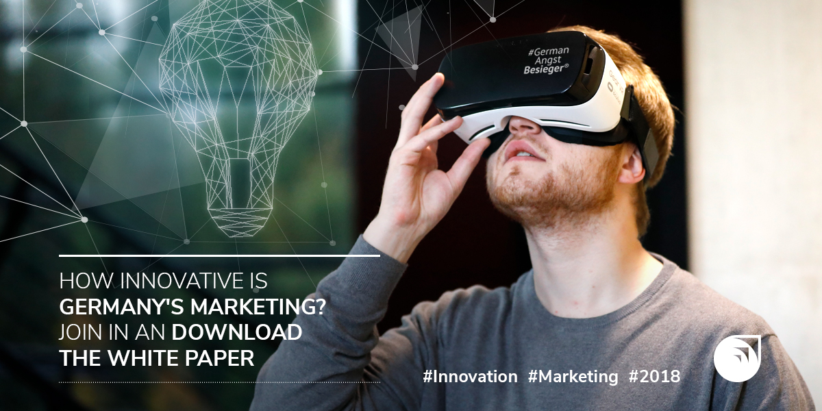 Survey on innovations in marketing: Take part and download our white paper